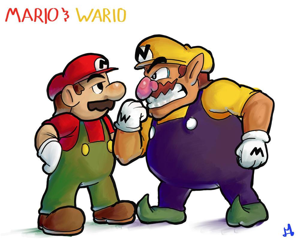 Mario e Wario - Superstar Saga by DocWario
