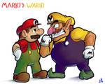 Mario e Wario - Superstar Saga