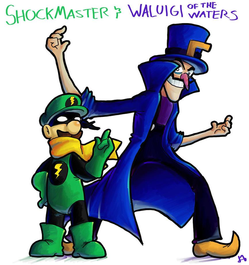 Luigi e Waluigi by DocWario
