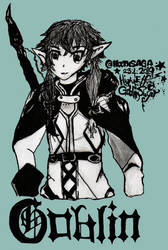 Goblin Slayer High Elf Fan Art