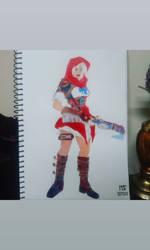 Overwatch Little Red Riding Hood 4 yr Anniversary
