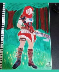 Overwatch Little Red Riding Hood Fan Art