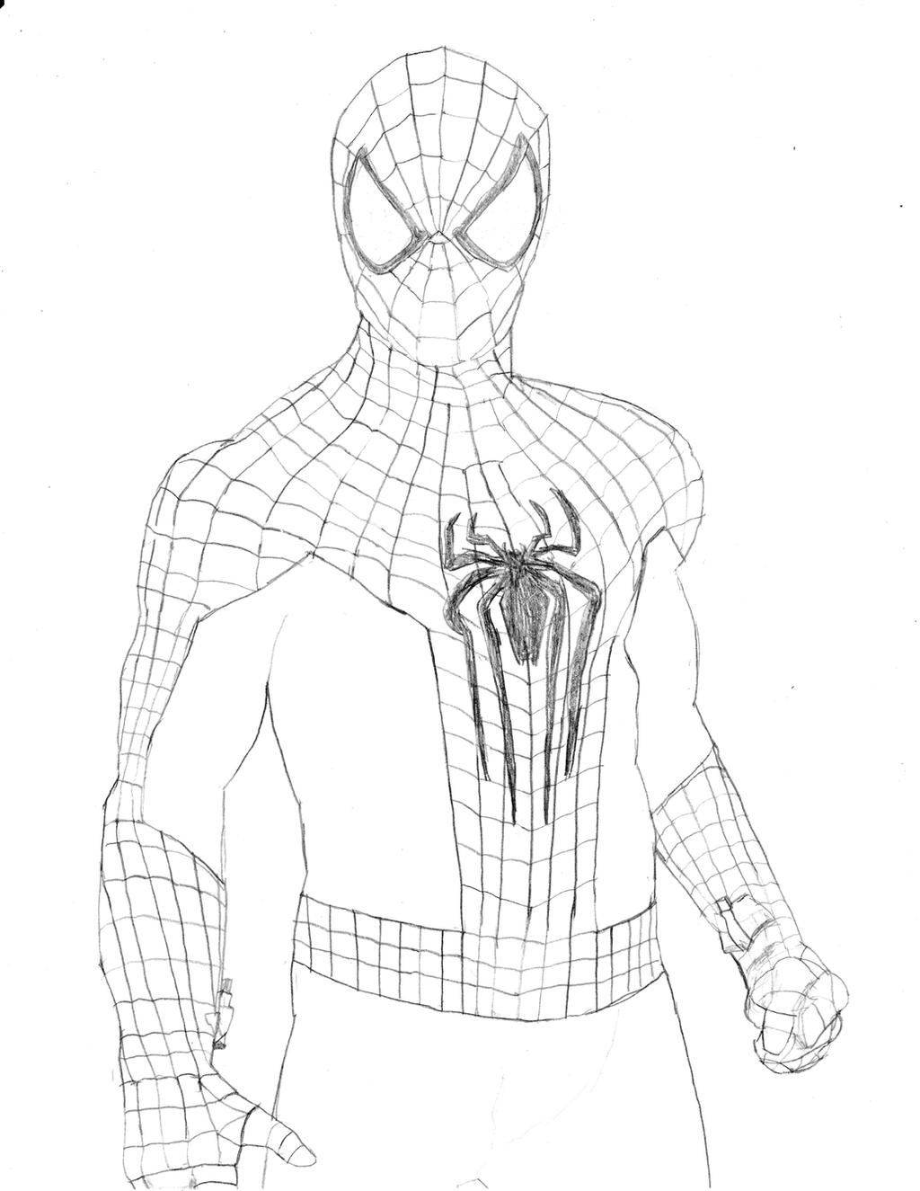 The un amazing spider man 2 by homer311 on deviantart for The amazing spider man 2 coloring pages