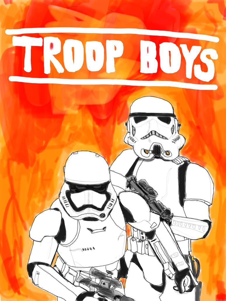 Troop Boys by homer311