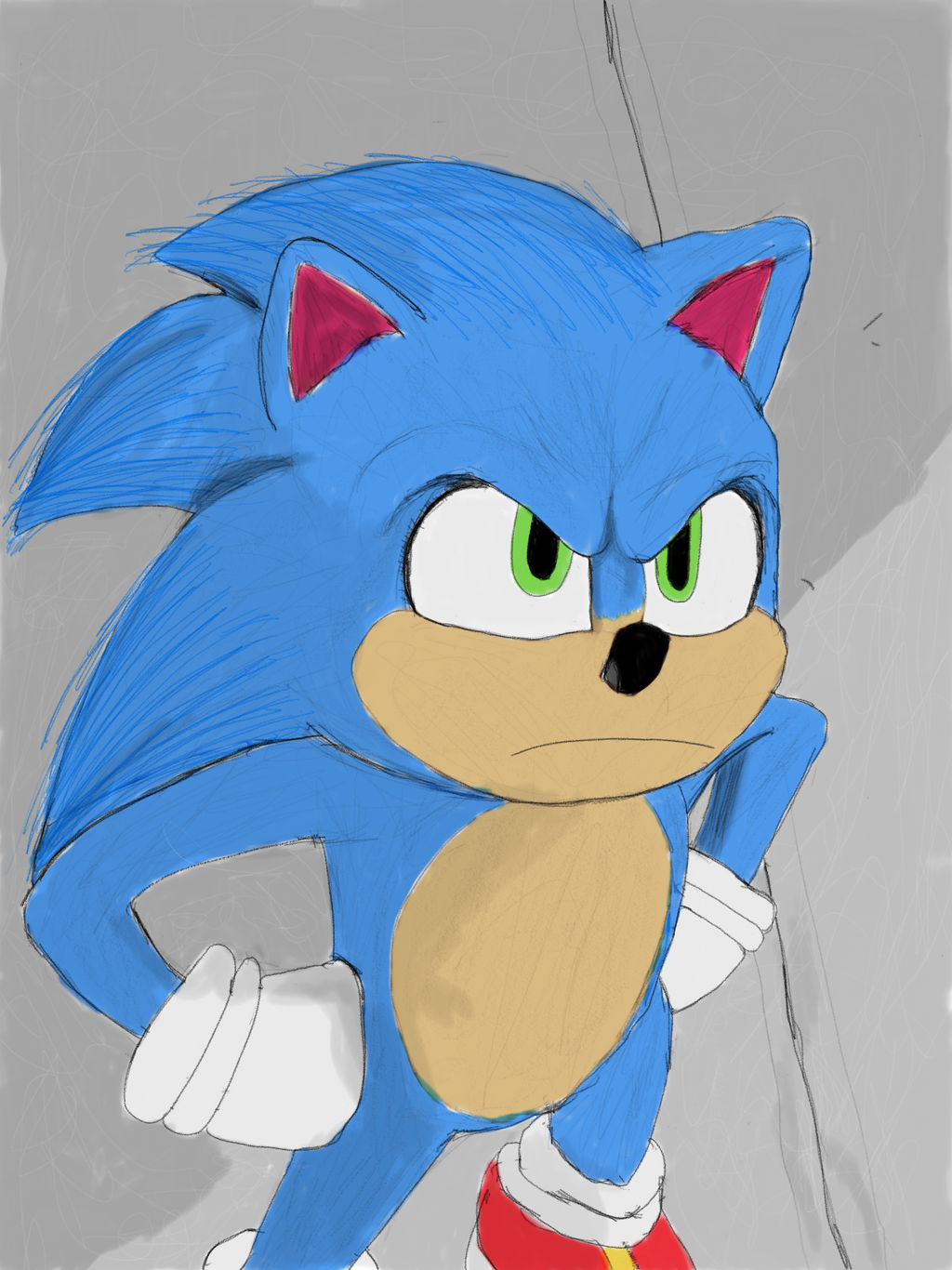 Sonic The Hedgehog 2020 By Homer311 On Deviantart