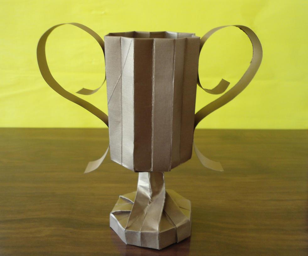Origami Trophy By RyuuCid