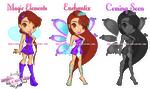 ME: Sophia's Fairy Evolution Chibi Version! by artbysawa