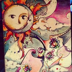 finished sun/moon