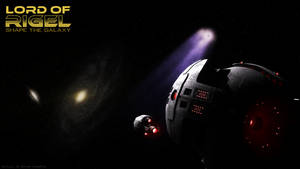 Synth Starbase Wallpaper