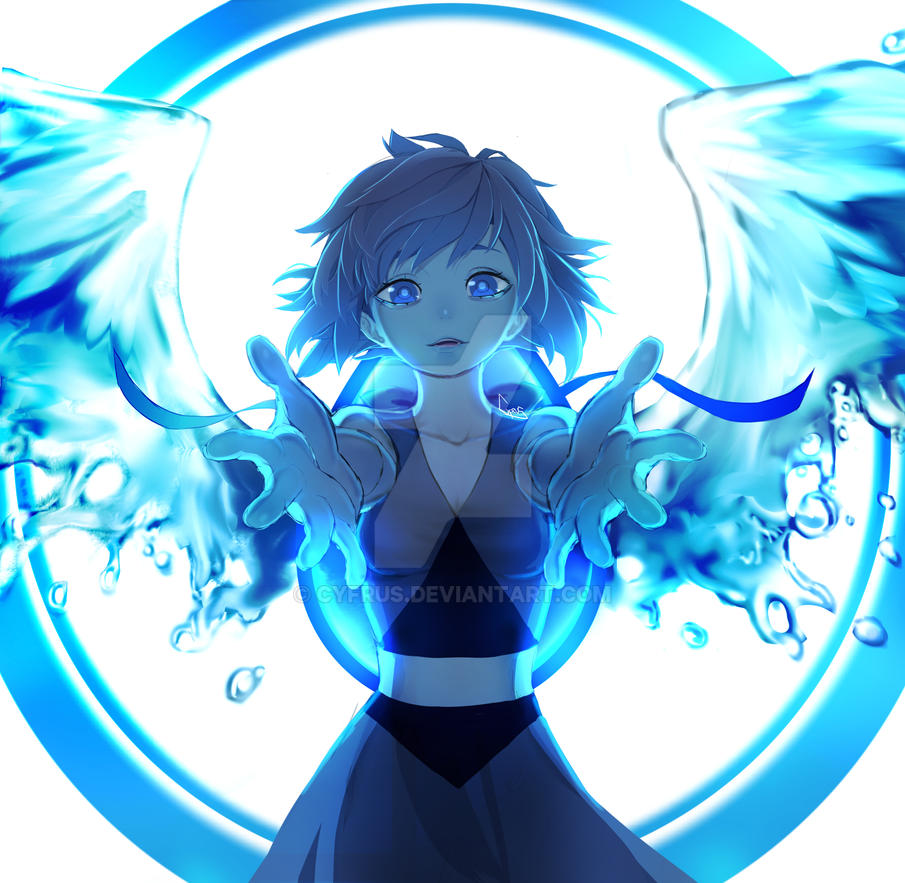 Lapis lazuli fan art by Cyfrus on DeviantArt
