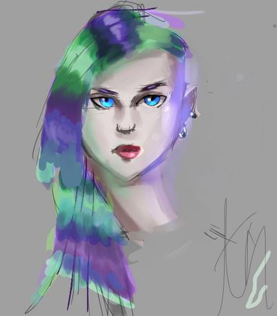 PunkGirl by MYTHICSONOFGOD