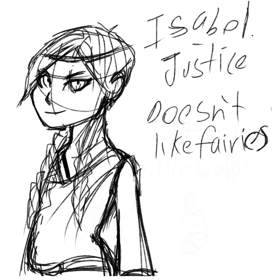 Isabel justice by MYTHICSONOFGOD