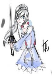 Weiss-I fight for my friends. by MYTHICSONOFGOD