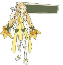 Inubouzaki Fuu with her huge sword