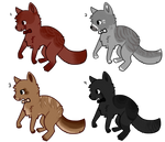 Bowtie Dog Adoptables by StarSushi-Adopts