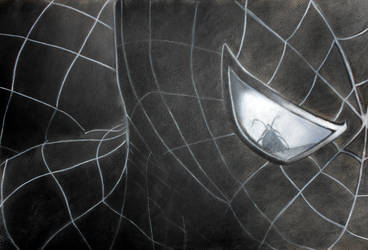 Charcoal Spider-Man by xnikkisonfire
