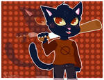 ~Mae/ Night in the woods