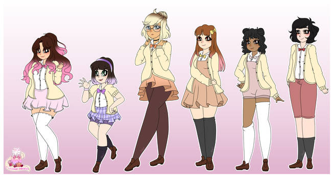 ~College Outfits (Crystal sweets)
