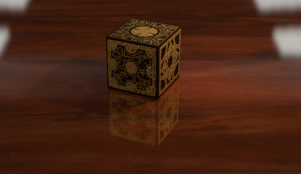 Hellraiser Box by BrentNewton