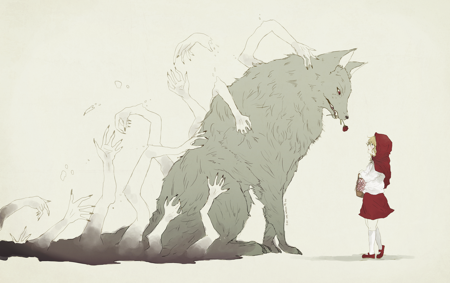 dear little red riding hood by nilampwns
