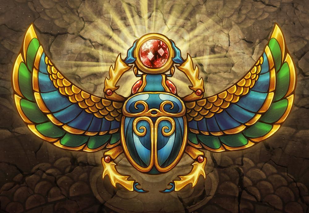 egyptian winged scarab - photo #32