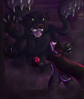 Brok v. Displacer Beast