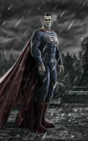 Superman in Batman vs Superman by billycsk