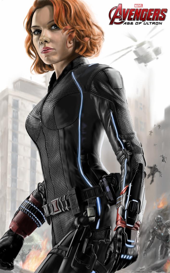 Black Widow Age Ultron: Avengers Age Of Ultron Black Widow By Billycsk On DeviantArt