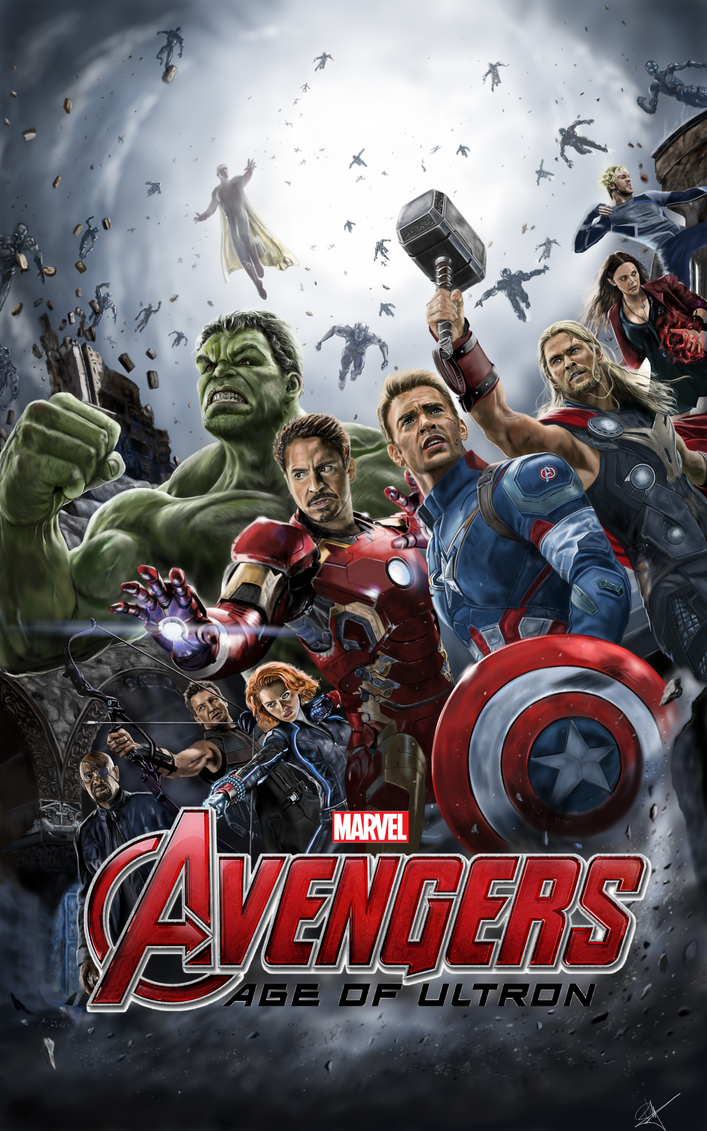 Avengers Age Of Ultron By Iloegbunam On Deviantart: Avengers Age Of Ultron By Billycsk On DeviantArt