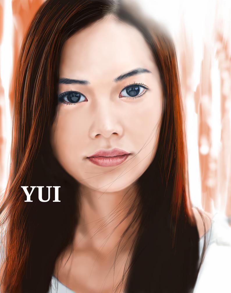 japanese singer yui by billycsk on deviantart