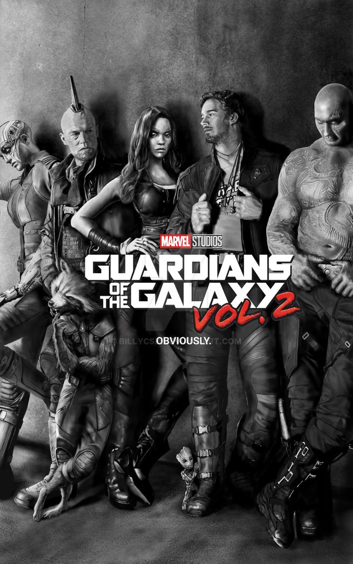 Guardian of the Galaxy Vol.2 fan art by billycsk