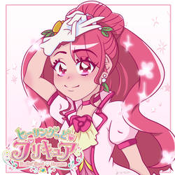 New pink Cure from Healin Good Precure!