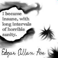 Edgar Allan Poe Quote by KastleKream