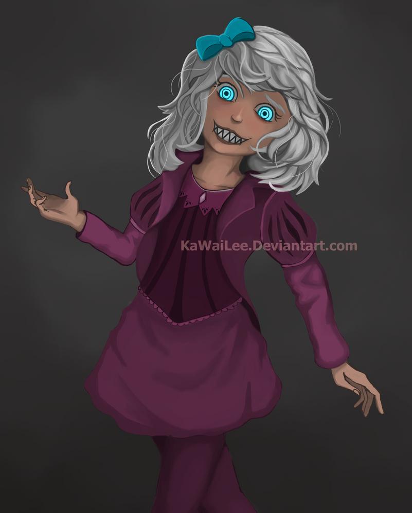 Blue Eyes by KaWaiLee