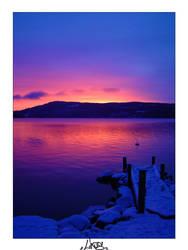 Lysvik Sunset 2 by missingelement