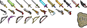 Ouroboros weapons icons