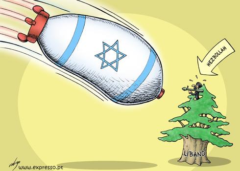 Israel_Libano by rodani