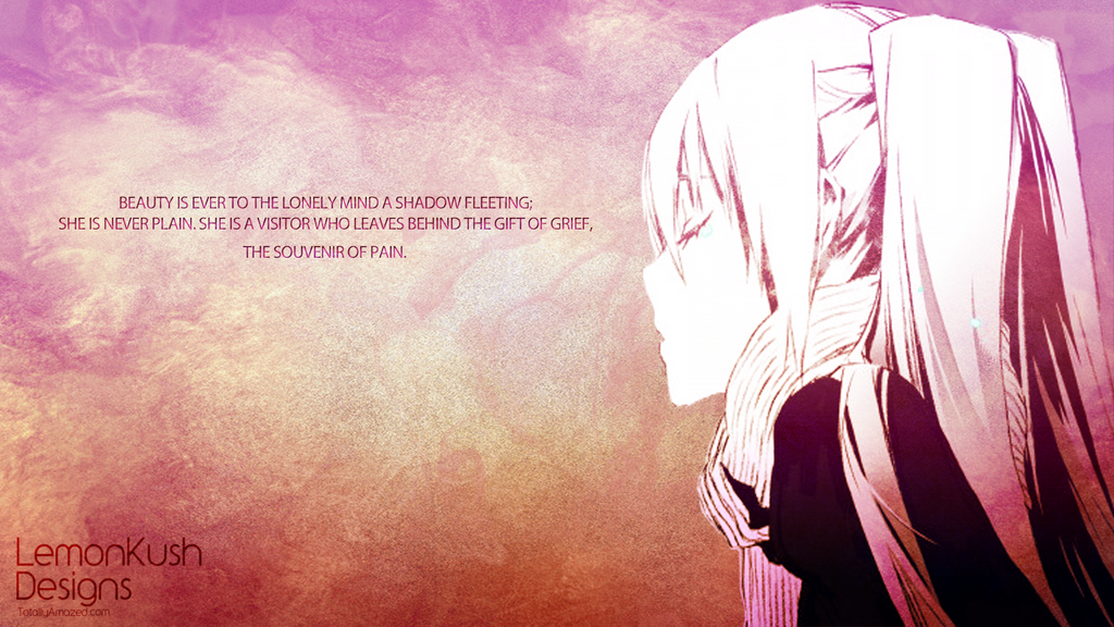 Anime Quotes About Loneliness Lonely Anime Quotes. Q...