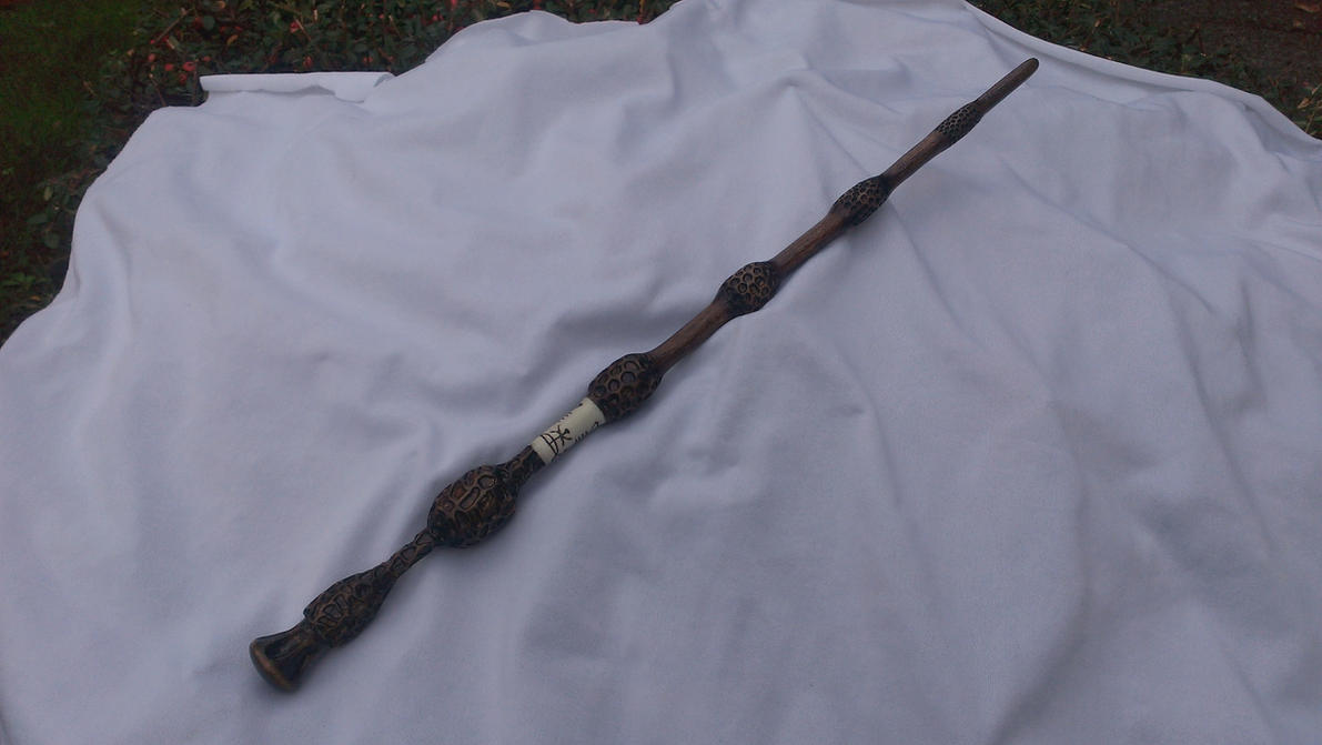 Replica wand the elder wand by ethorlen on deviantart for Harry potter elder wand replica