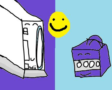 Wii And Gamecube best friends by mariolove