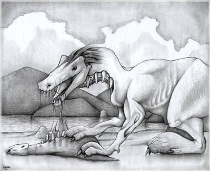 Monster eats monster