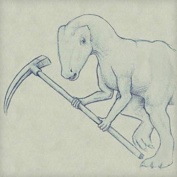 Billy the dinosaur
