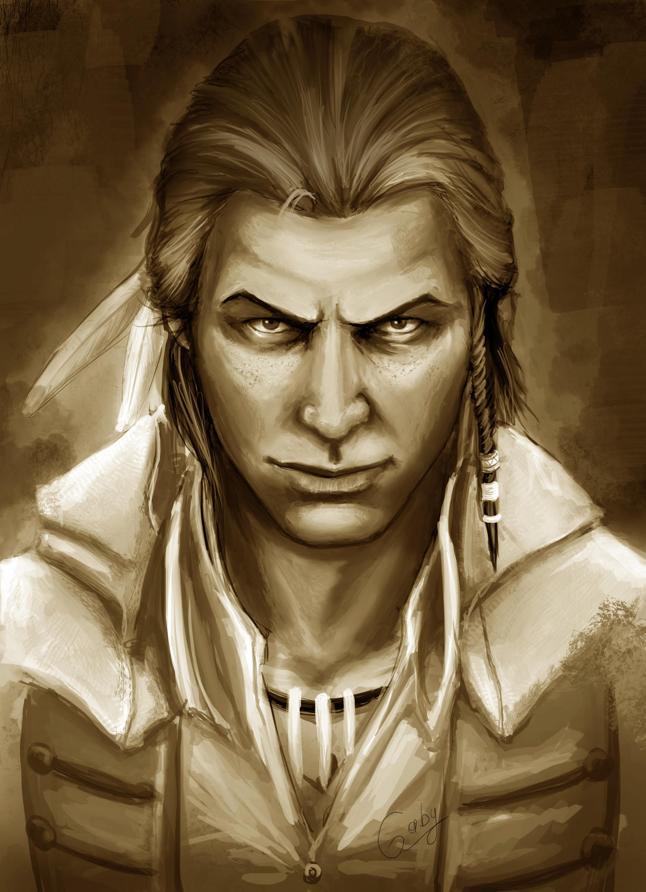 Connor Kenway by chimicalstar