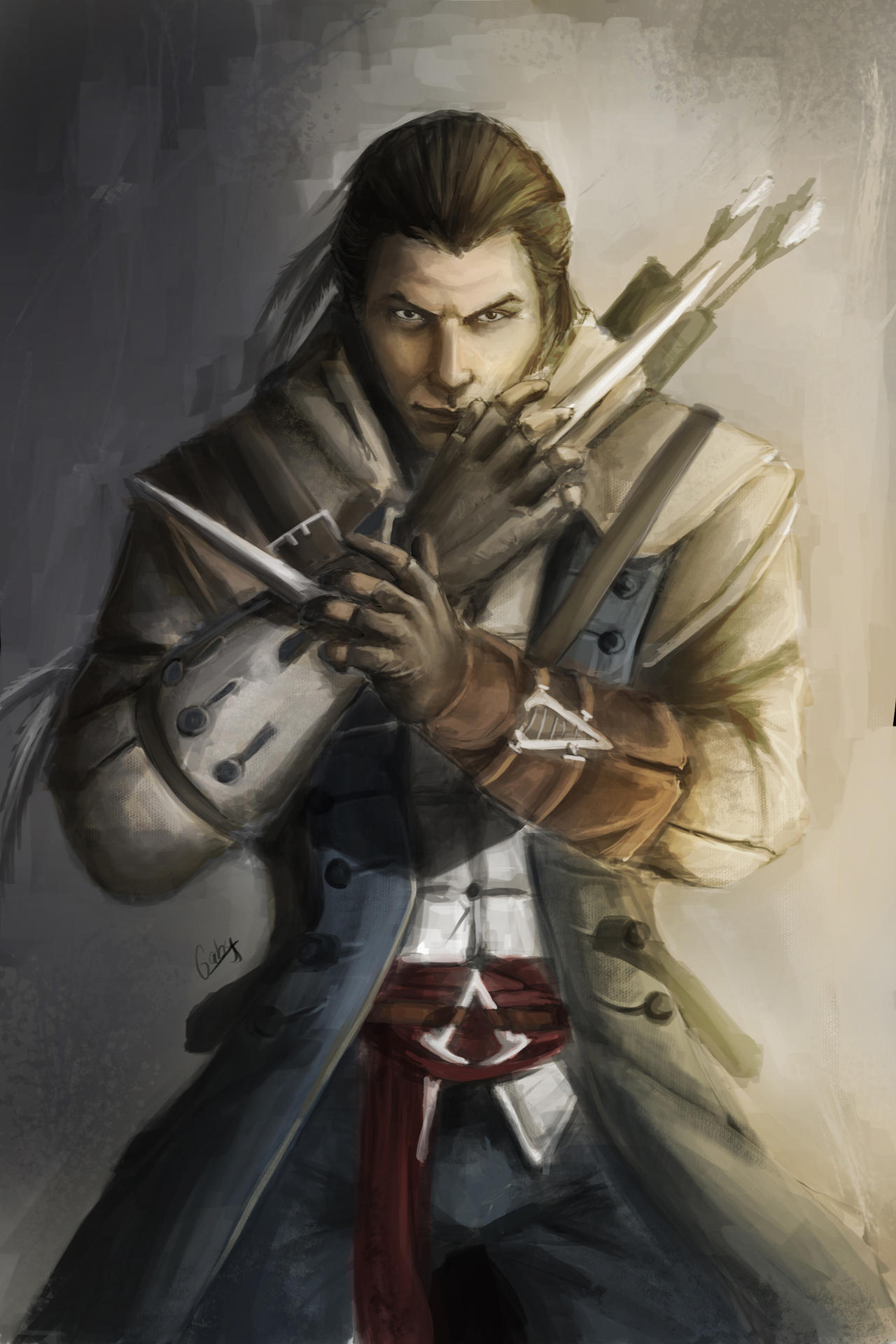 Assassin S Creed Iii Connor Kenway By Chimicalstar On Deviantart