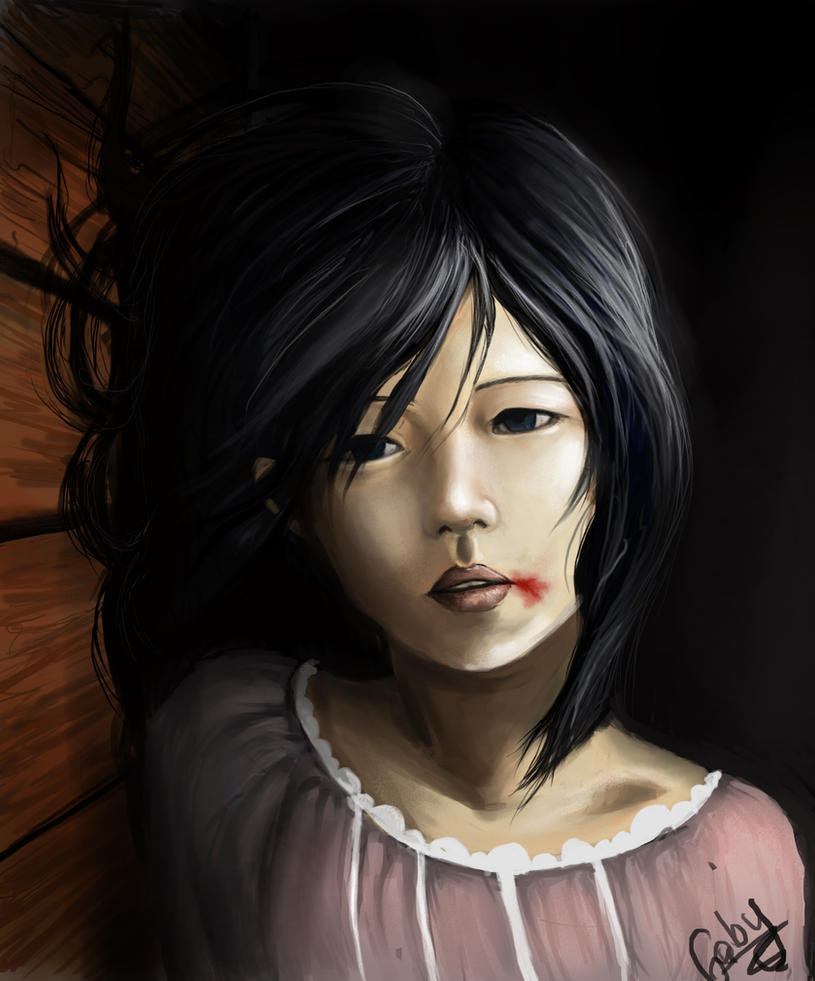 Mikasa Ackerman : childhood by chimicalstar