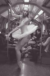 12. Street Ballerina - Central Line, London