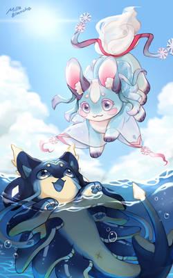 Yuki and Rei