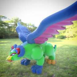 inflatable Pepita by Q2839