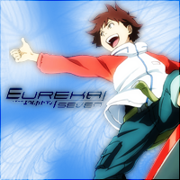 iPod Album Cover- Eureka Seven by CyberAlchemist