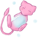 Mew and its Bubble by AlenaChen